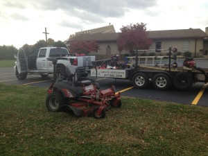 Truck mower